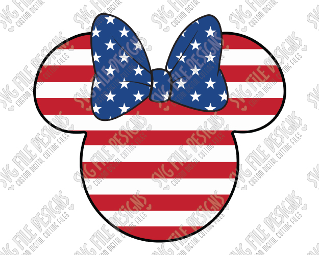 Minnie mouse american.