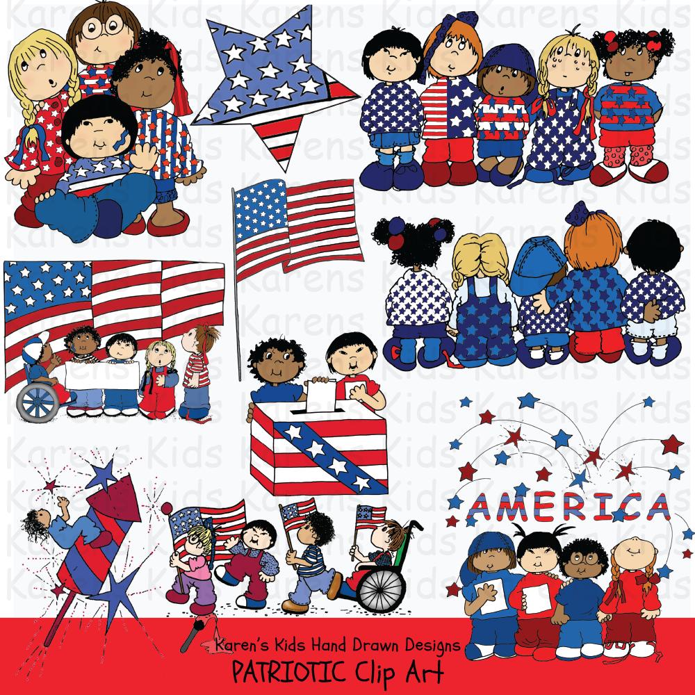 Clip art patriotic.