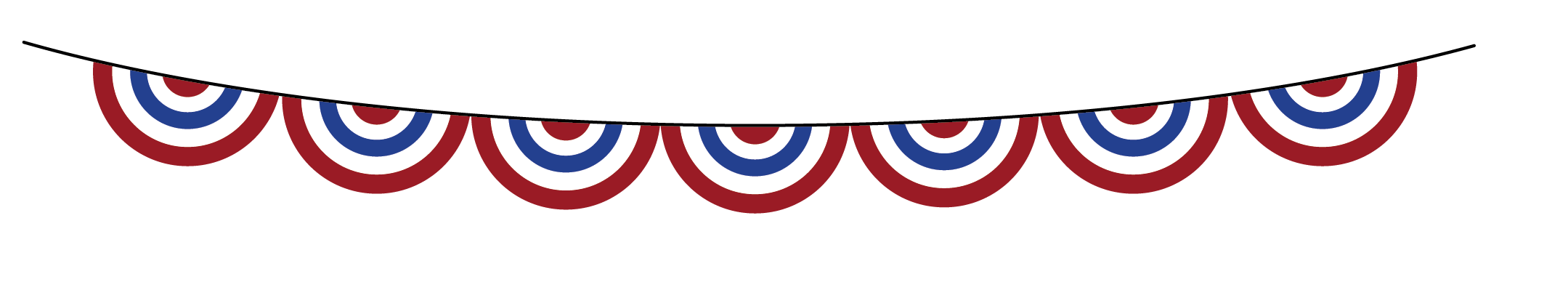 Clipart banner 4th.