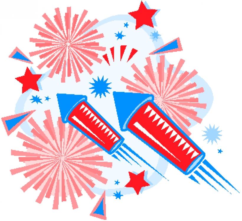4th july fireworks.