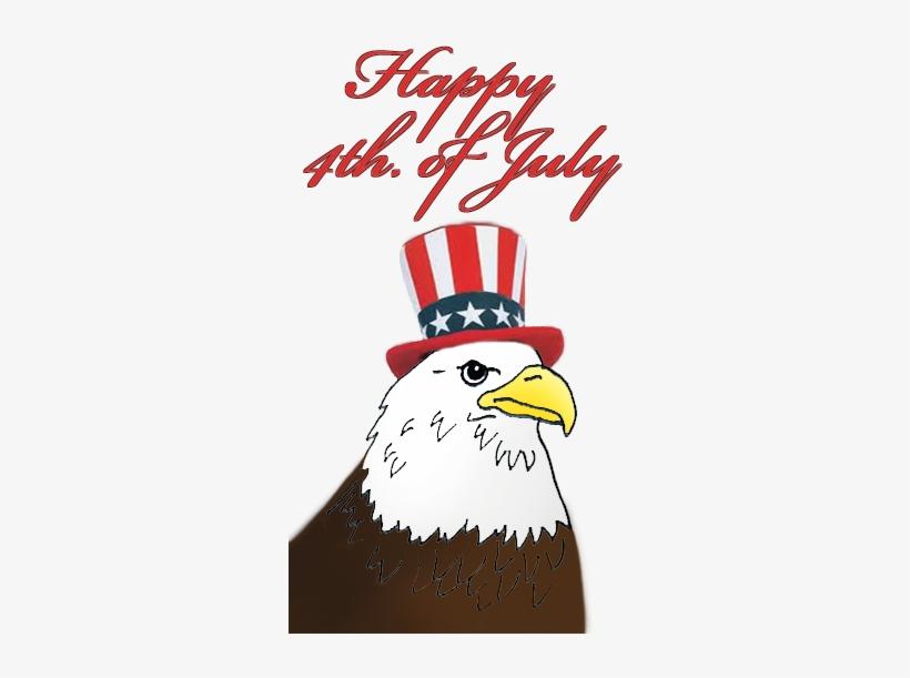 July clipart eagle.