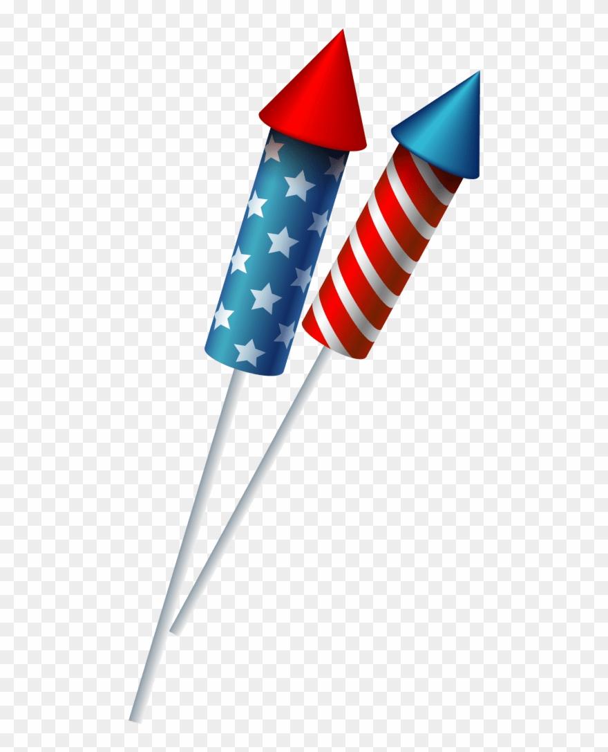 4th july firecracker.