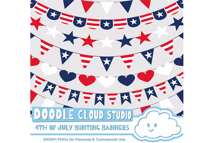 4th july bunting.