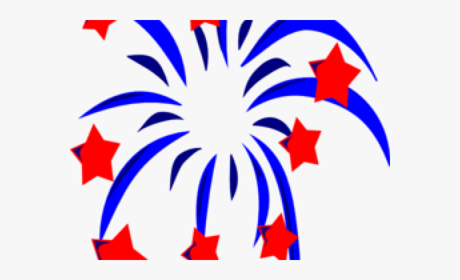 Sparklers clipart red.