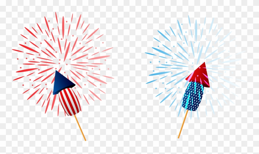 Sparklers png clipart.