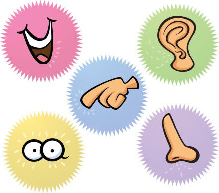 Senses clip art clipartlook.