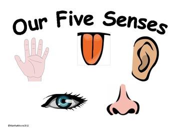 Free senses cliparts.