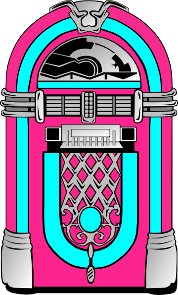 Jukebox clipart clipart.