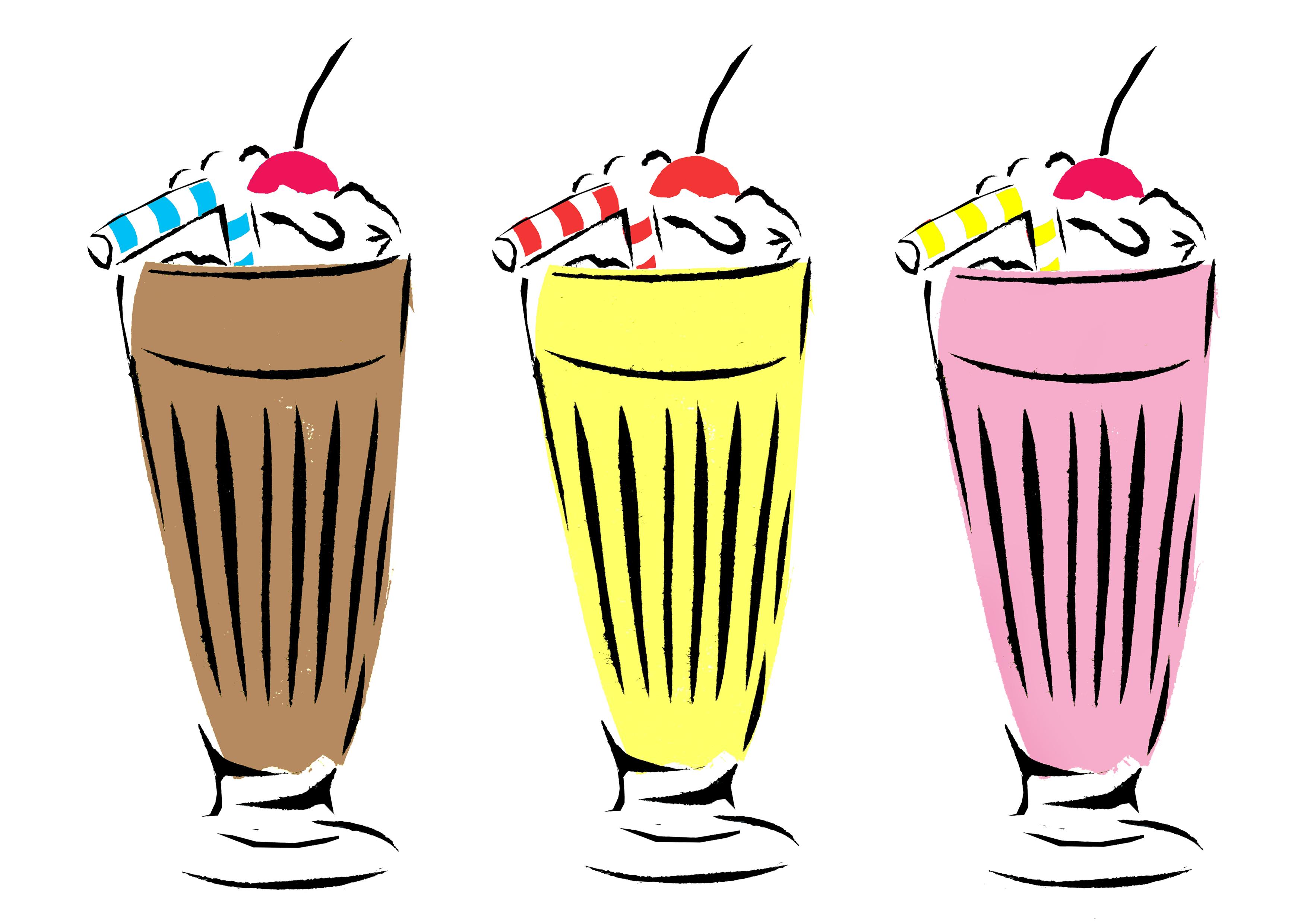 Milkshake picture free.