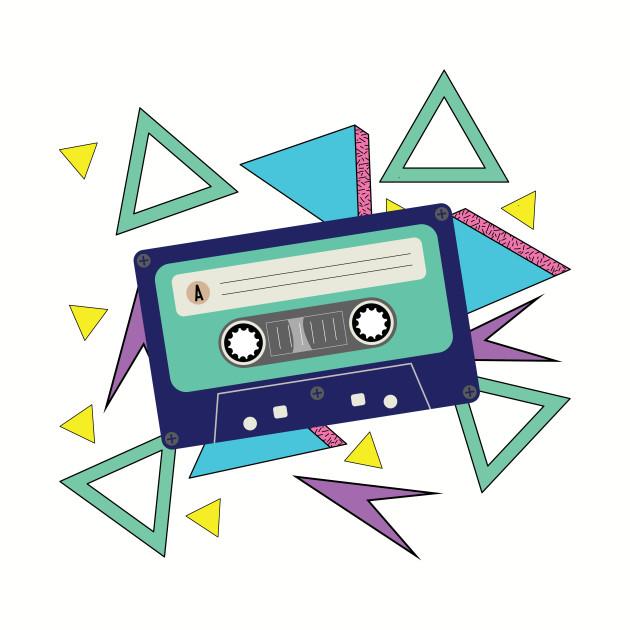Cassette tape 90s.