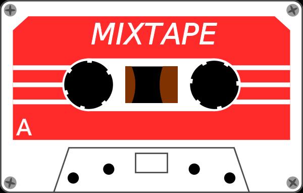 Cassette tape clip.
