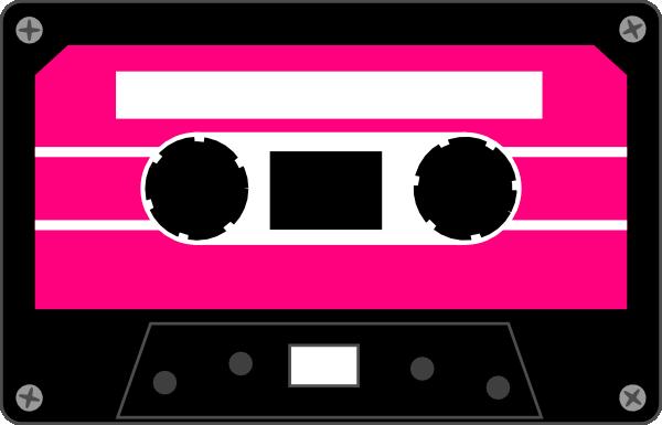 Free cassette cliparts.