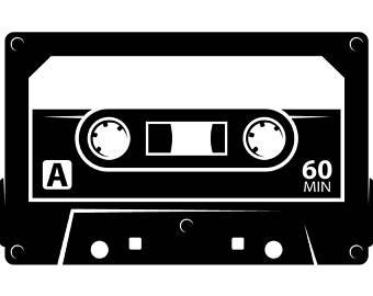 90s clipart record.