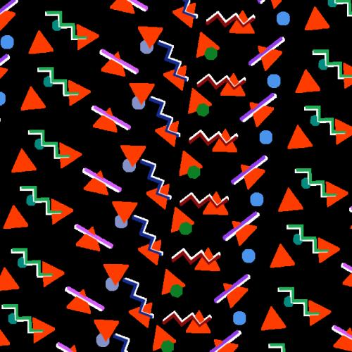 90s triangle pattern.