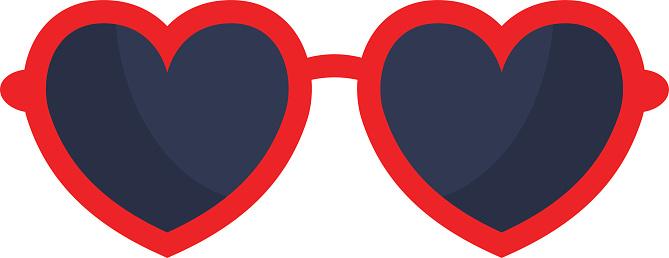 Free heart glasses.