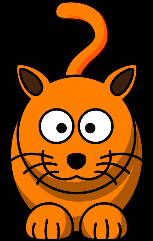 Free cartoon cat.