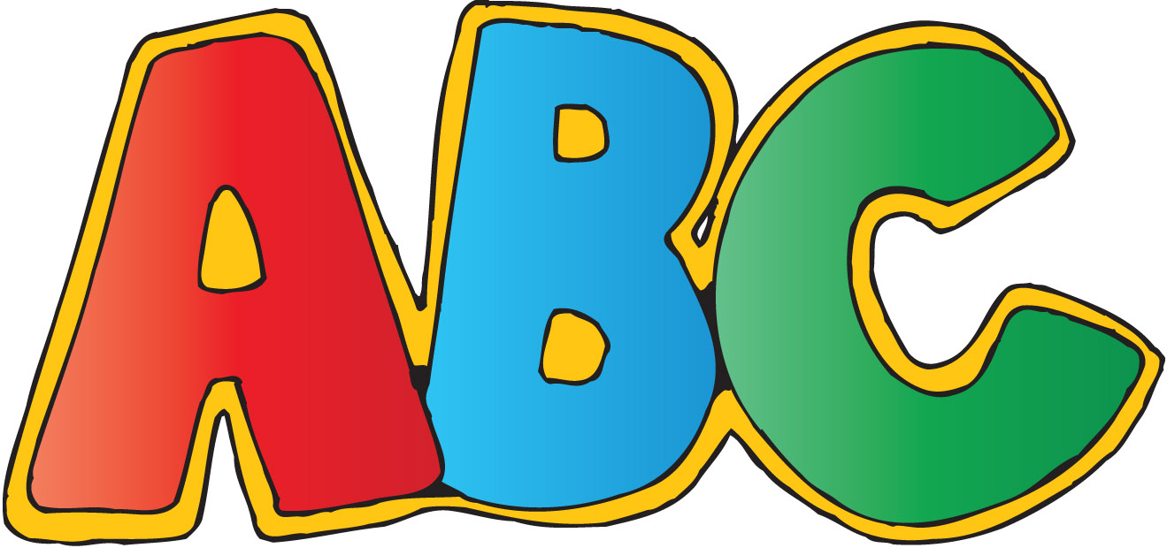 Collection abc clipart.