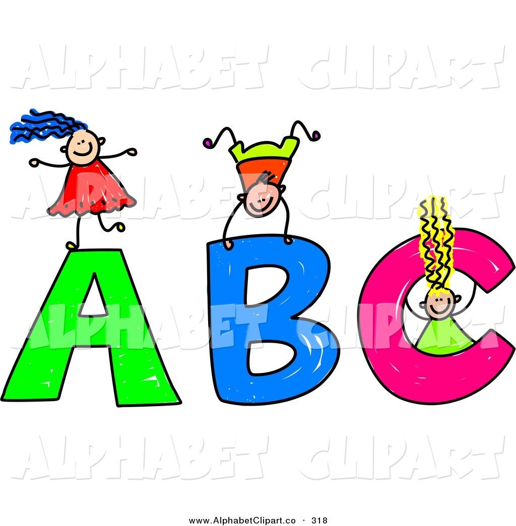 Animated alphabet clipart.