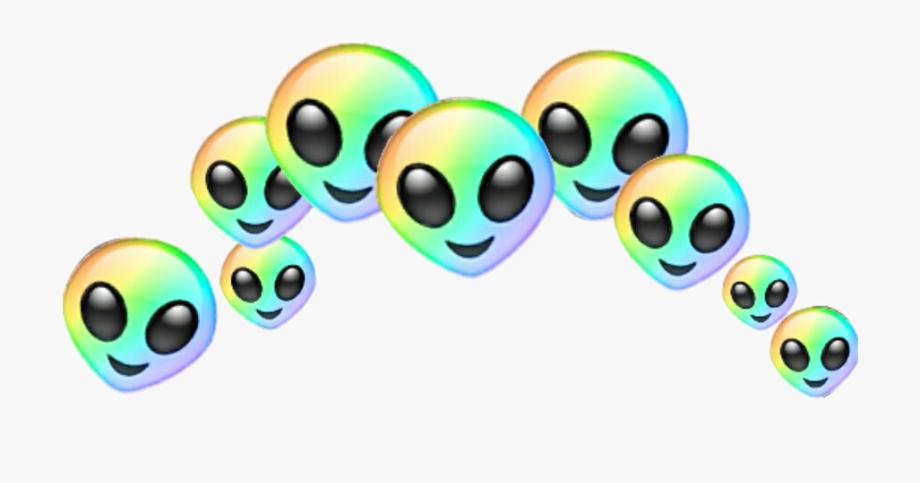 Aesthetic alien png.