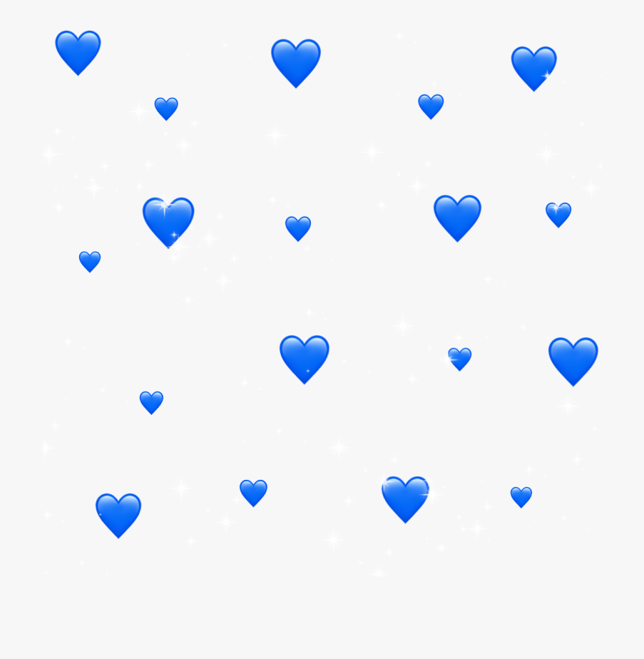 Blue aesthetic stickers.