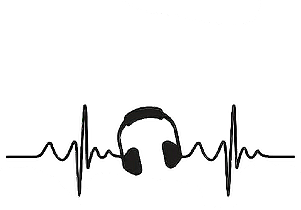 Heartbeat clipart line.