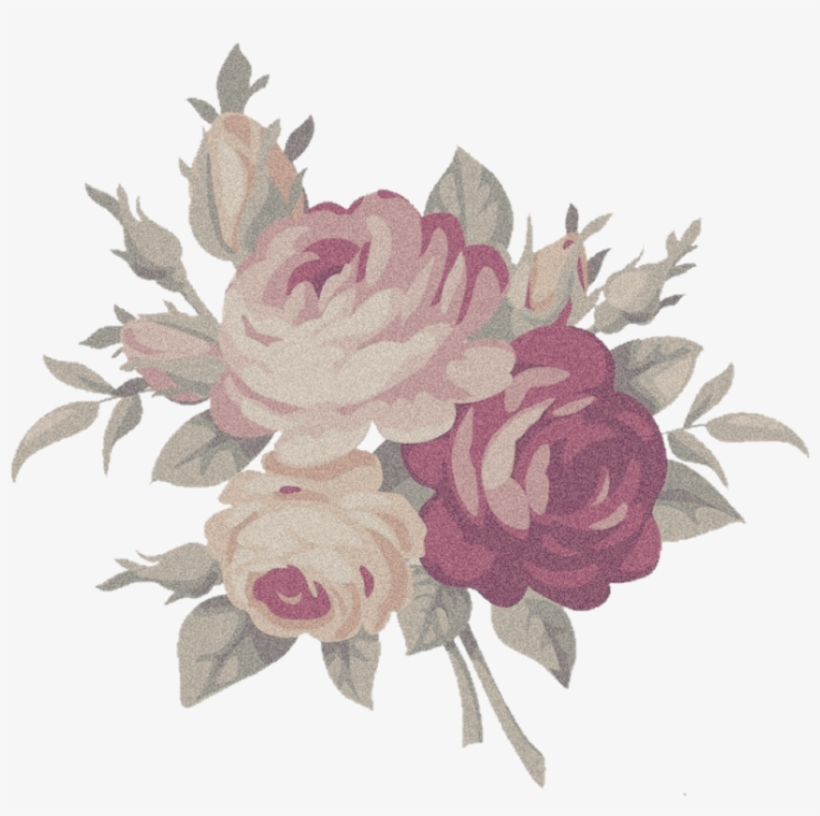 Aesthetic flower png.