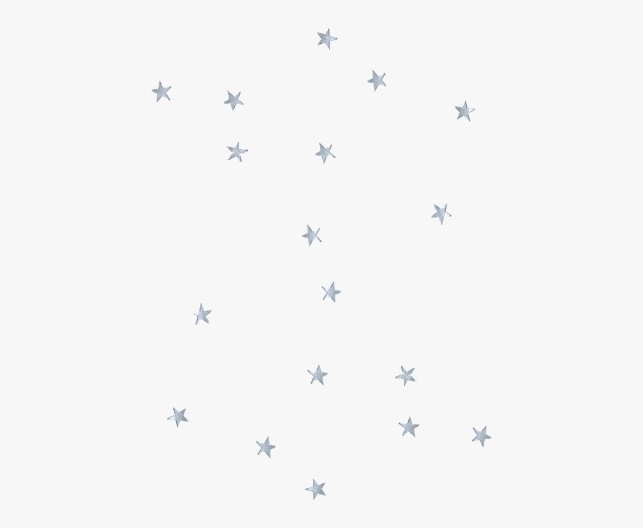 Stars confetti aesthetic.