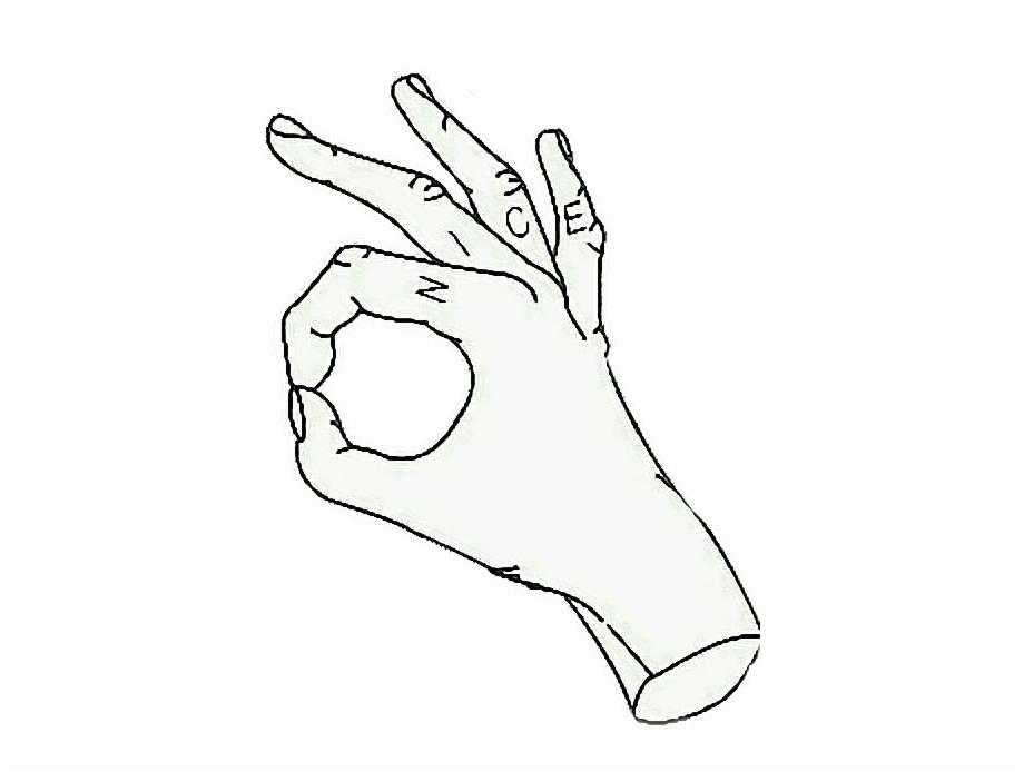Nice okay hand.