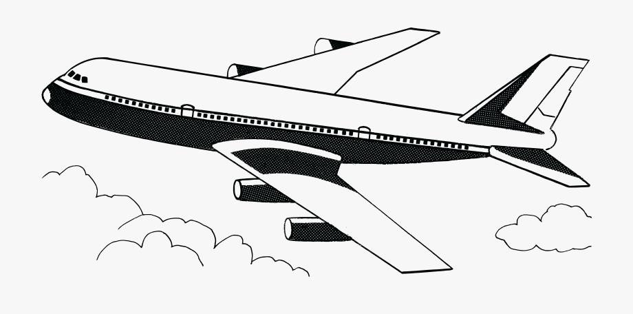 Free clipart plane.