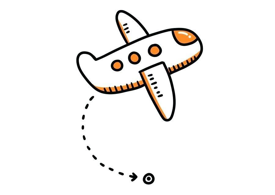 Airplane pattern airplane.
