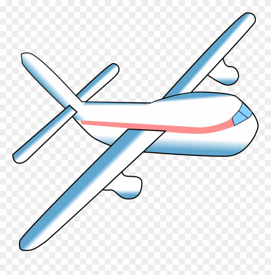 Svg airplane clipart.