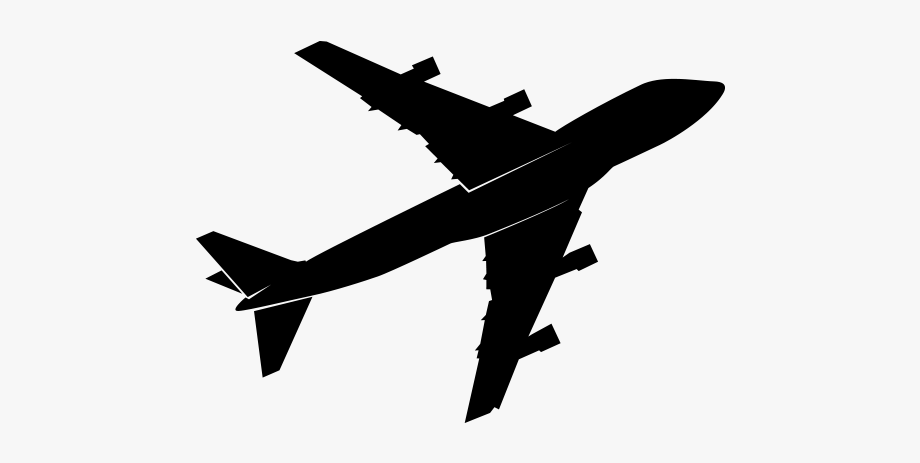 Aeroplane clipart vector.