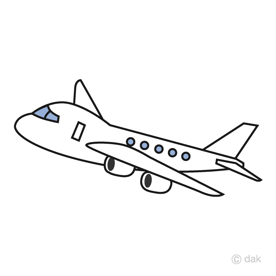 Free simple airplane.
