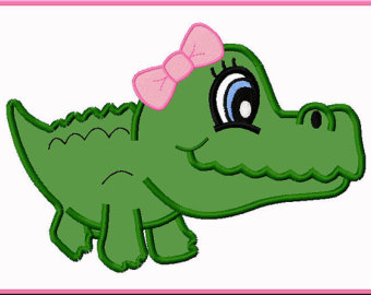 Free alligator cliparts.