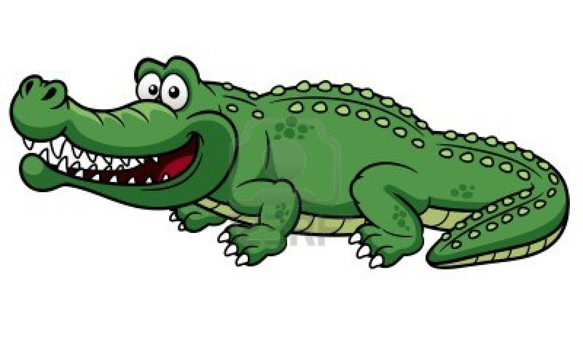 Alligator clipart kid.