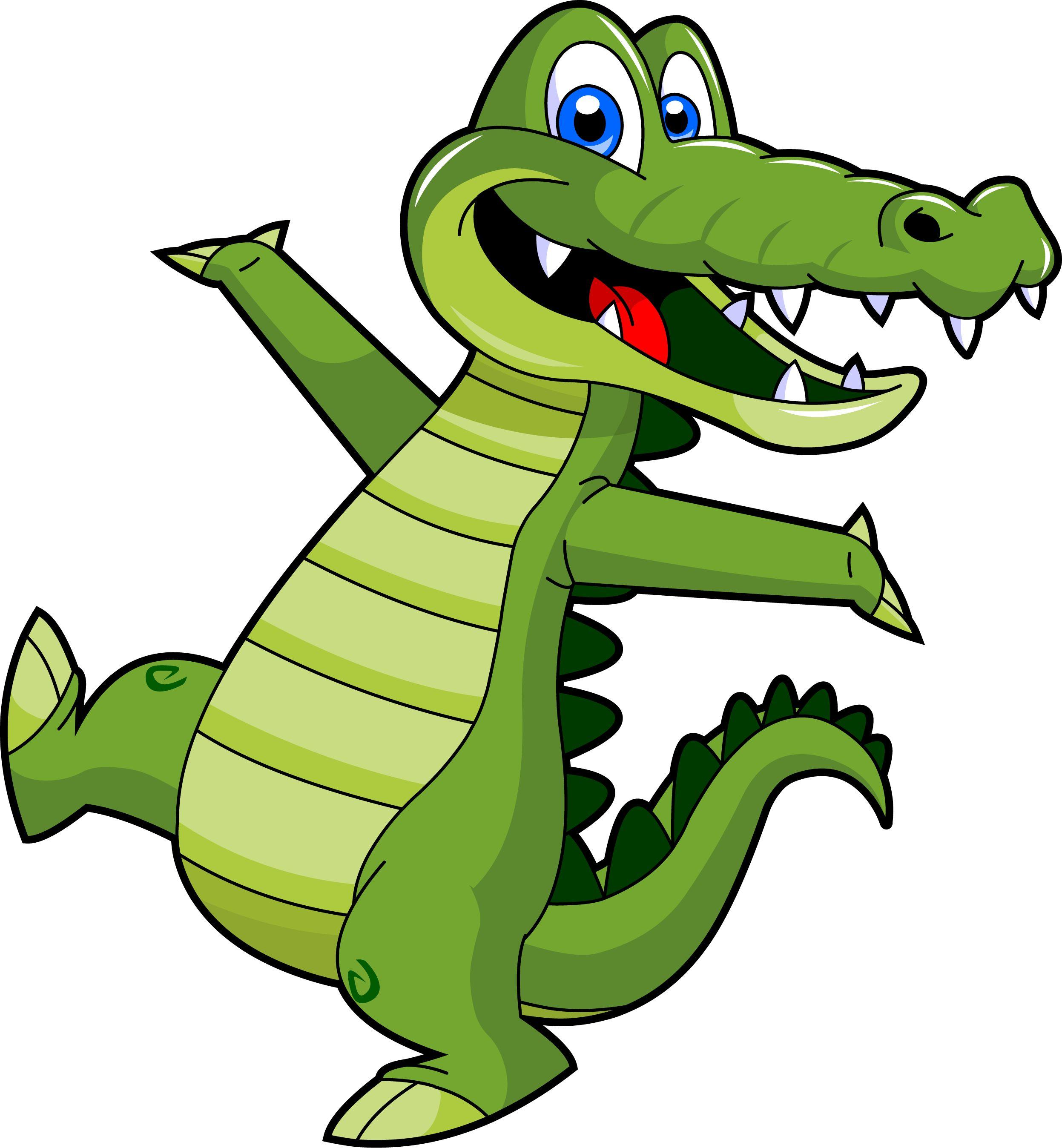 Free crocodile clipart.