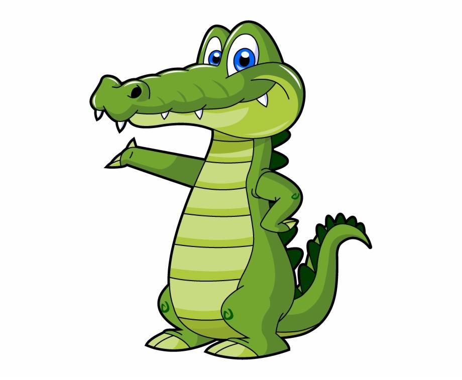 Crocodile clipart transparent.