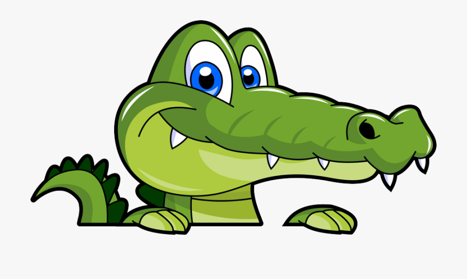 Alligators clip art.
