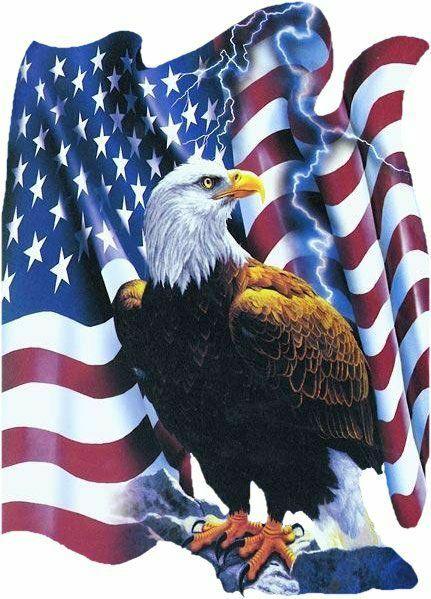 American legion emblem.