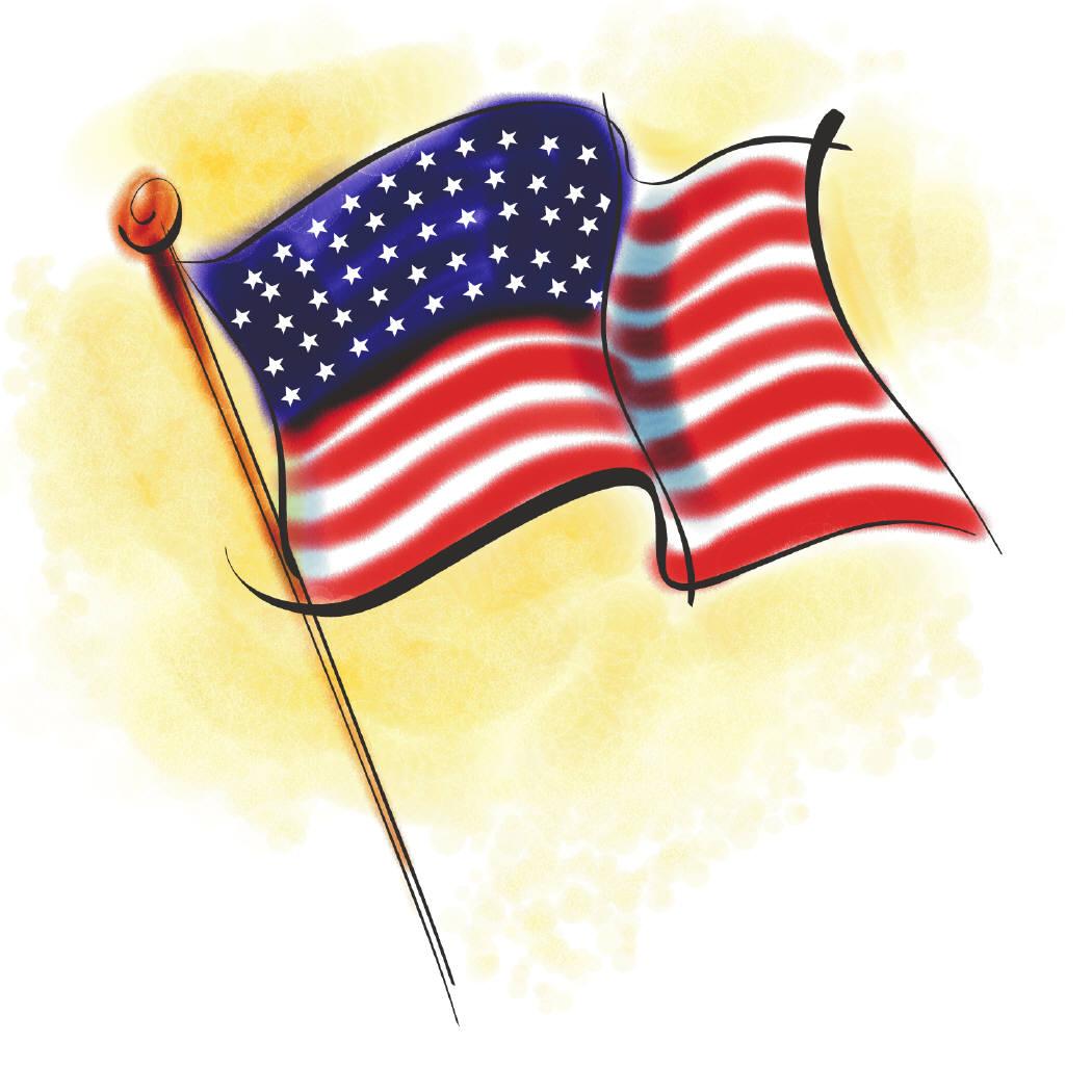 Flag united states.