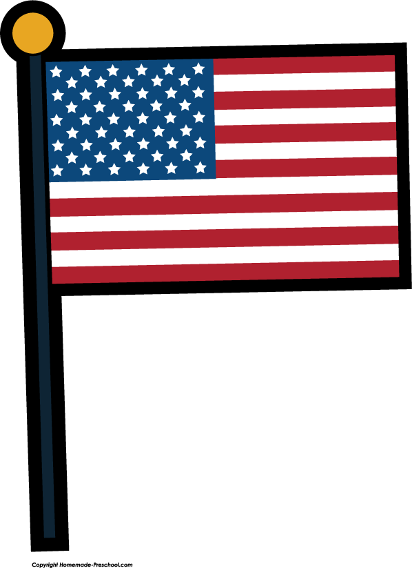 Free american flags.