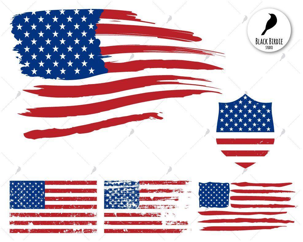 Flag svg distressed.