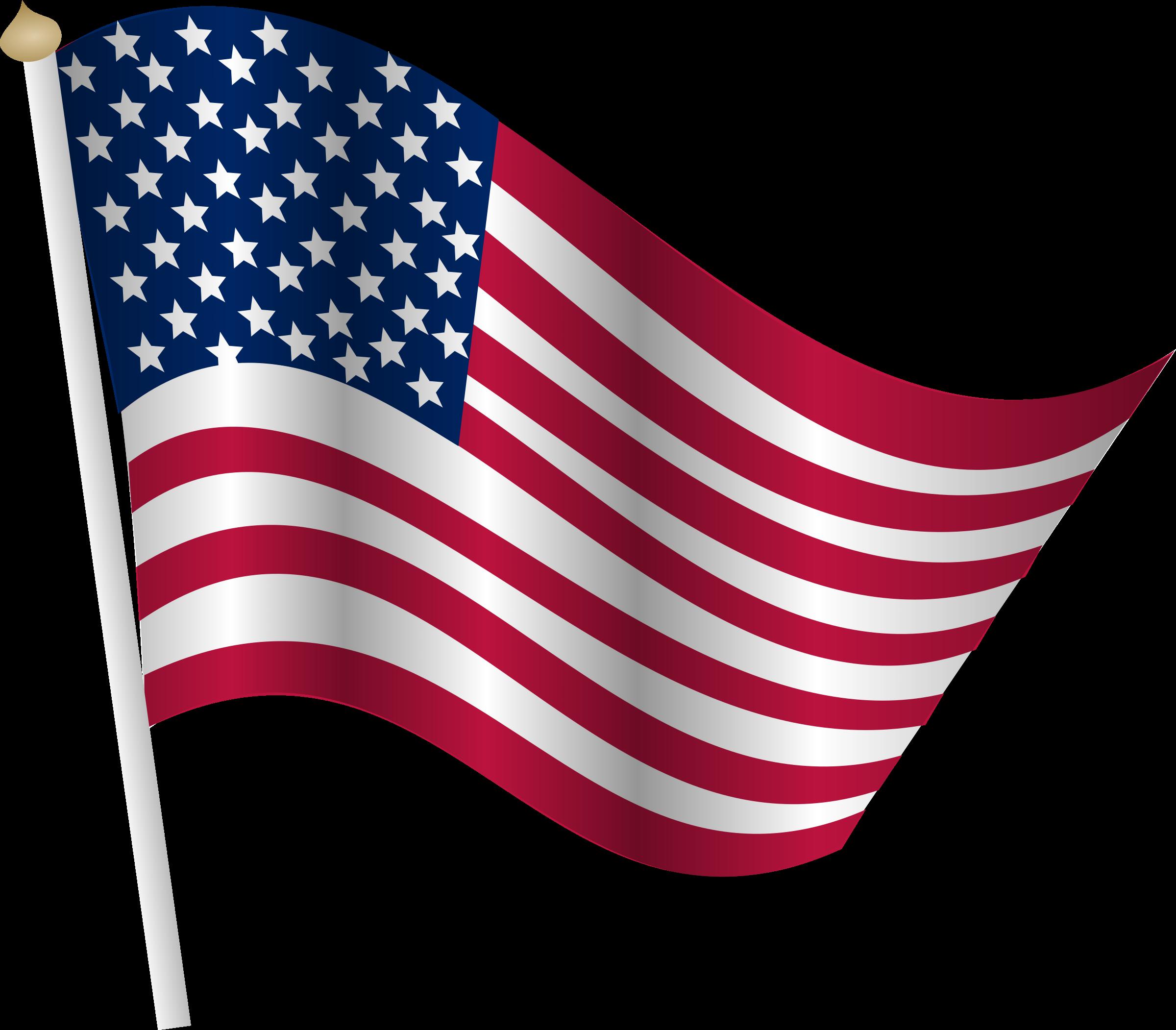 Flag the united.