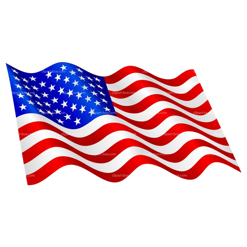 41 waving american.