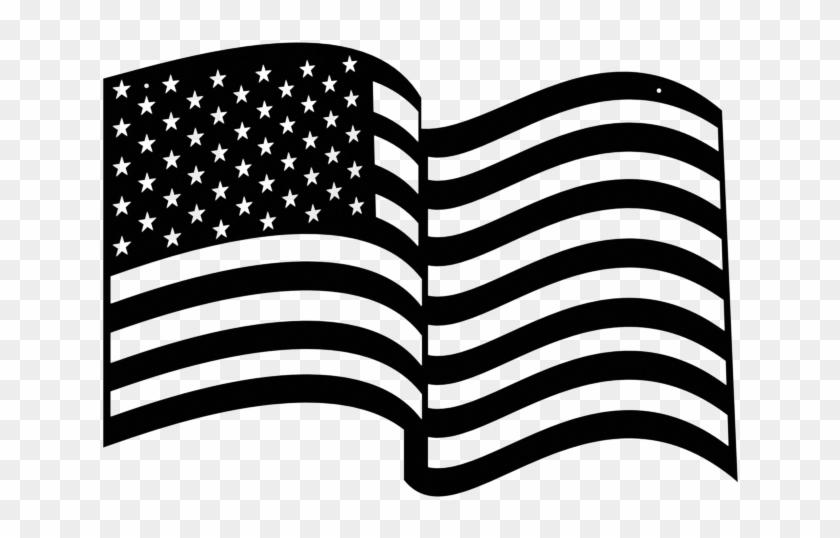 Wavy american flag.