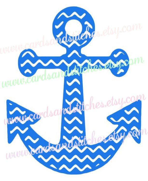 Chevron anchor svg.