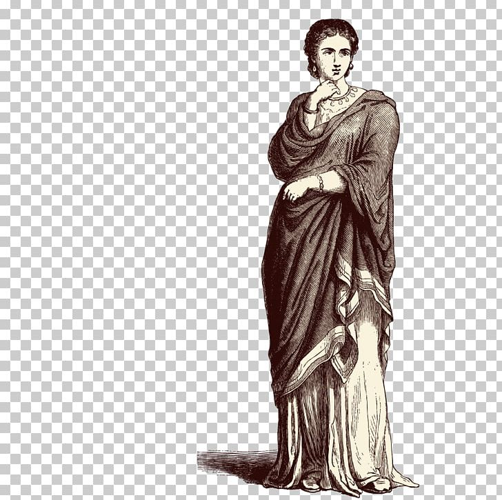 Ancient rome woman.