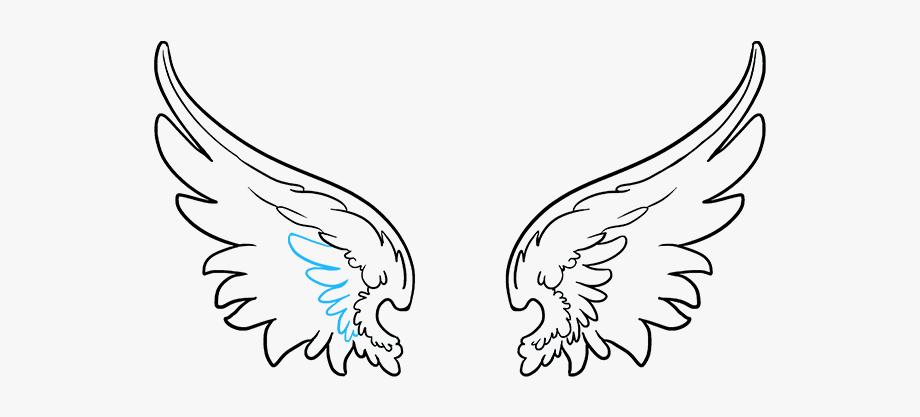 Angel Wings Drawing Tutorial At Getdrawings Com