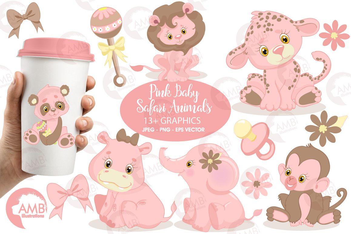Pink safari baby.