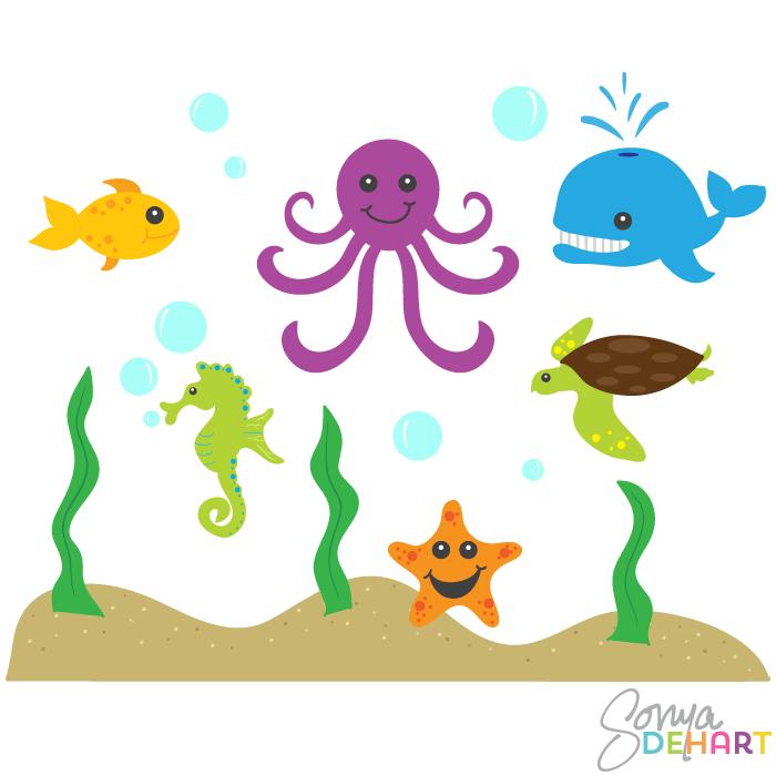 Free ocean animal.